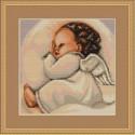 Спящий ангелочек Набор для вышивания Luca-S