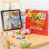 В наборе Стрекоза Набор с рамкой для создания картины-витража Color Kit