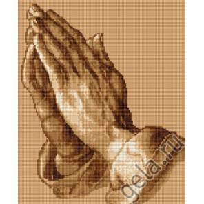 Молящиеся руки Набор для вышивания Luca-S