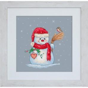 Снеговичoк Набор для вышивания Luca-S