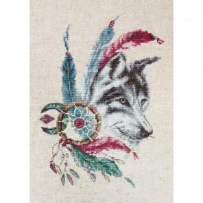 Волк Набор для вышивания Luca-S