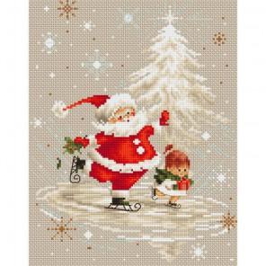 Санта Клаус Набор для вышивания Luca-S