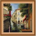 Венеция в цветах Набор для вышивания Luca-S