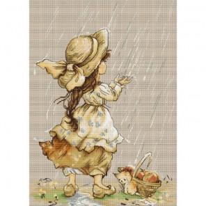 Летний дождь Набор для вышивания Luca-S