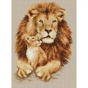 Львы Набор для вышивания Luca-S