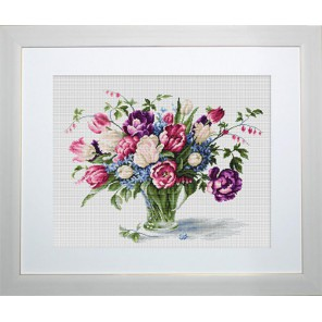 Тюльпаны Набор для вышивания Luca-S