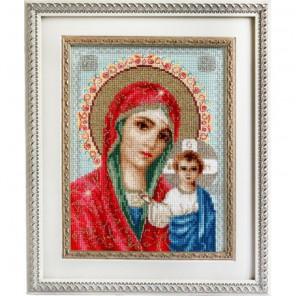 Икона Казанской Божией Матери Набор для вышивания Luca-S