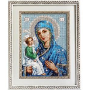Икона Иерусалимской Божией Матери Набор для вышивания Luca-S