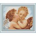 Первый поцелуй - деталь Набор для вышивания Luca-S