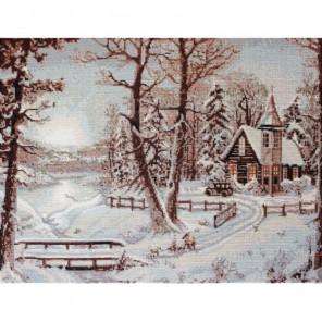 Зимний пейзаж Набор для вышивания Luca-S