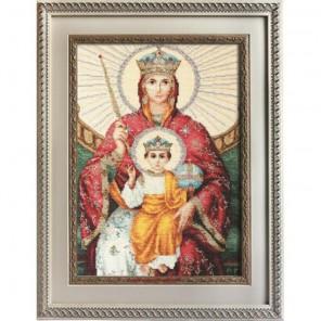 Икона Божией Матери Державная Набор для вышивания Luca-S