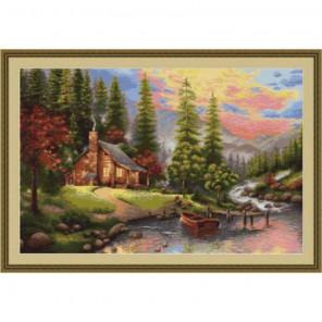 Горный пейзаж Набор для вышивания Luca-S