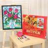 Комплектация Розы Набор с рамкой для создания картины-витража Color Kit