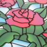 Контуры крупно Розы Набор с рамкой для создания картины-витража Color Kit