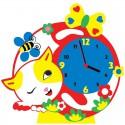 Котик часы Набор для творчества из фоамирана Color Kit