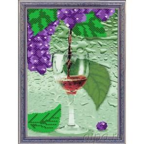 Виноградный сок Набор для создания картины из пайеток CME003