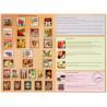 Оборотная сторона коробки упаковки набора для создания картины из пайеток Color Kit