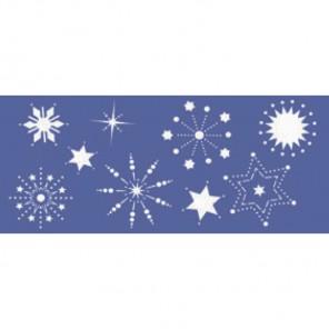 Парад звезд Трафарет 15х33см Marabu