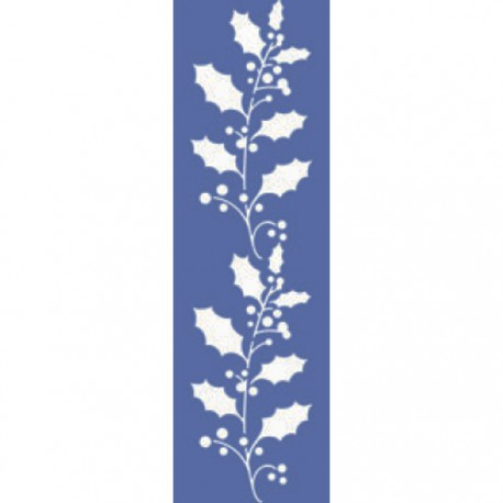 Листья дуба Трафарет 10х33см Marabu