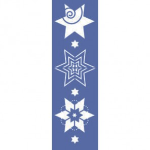 Звезды Трафарет 10х33см Marabu