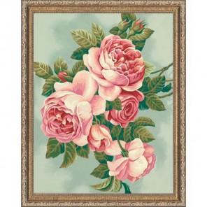 Розы 91299 Раскраска по номерам Dimensions