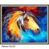 В рамке N143 Конь из сновидений Раскраска картина по номерам на холсте