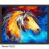В рамке N181 Конь из сновидений Раскраска картина по номерам на холсте