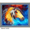 В рамке N182 Конь из сновидений Раскраска картина по номерам на холсте