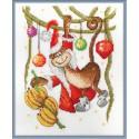 Новогоднее лакомство Набор для вышивания Машенька