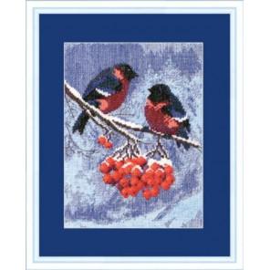Снегири Набор для вышивания Чаривна Мить 283