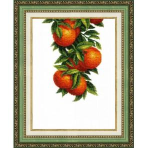 Солнечные апельсины Набор для вышивания Чаривна Мить ВТ-138