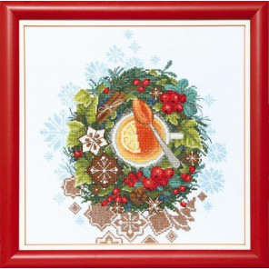 Рождественский чай Набор для вышивания Чаривна Мить ВТ-079