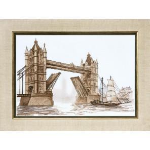 Лондон. Тауэрский мост Набор для вышивания Чаривна Мить ВТ-087