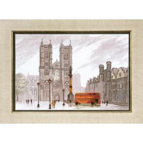 Лондон. Вестминстерское аббатство Набор для вышивания Чаривна Мить ВТ-086