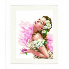 Lady of the Camellias Набор для вышивания Lanarte PN-0144530