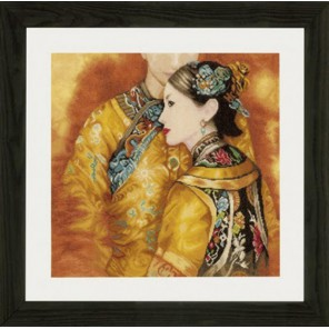 Asian couple Набор для вышивания Lanarte PN-0147587