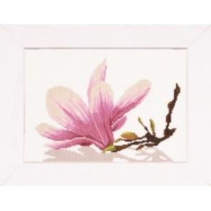 Magnolia Twig With Flower Набор для вышивания Lanarte PN-0008304
