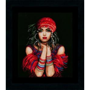 Gypsy girl Набор для вышивания Lanarte PN-0144529