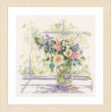 Bouquet of Flowers Набор для вышивания Lanarte