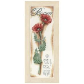 Red Poppies Набор для вышивания Lanarte PN-0154333