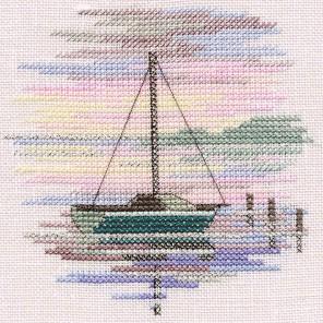 Sailing Boat Набор для вышивания Derwentwater Designs MIN11A
