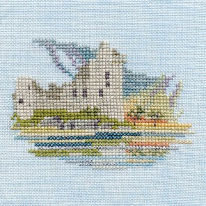 Waterside Castle Набор для вышивания Derwentwater Designs MIN21A