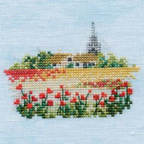 Poppyfield Набор для вышивания Derwentwater Designs MIN08A