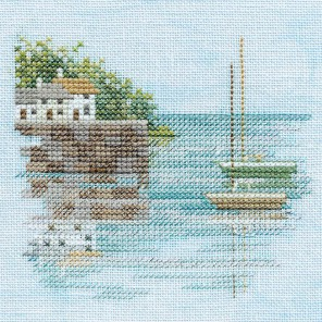 Quayside Набор для вышивания Derwentwater Designs MIN04A