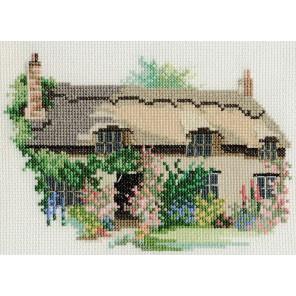 Thornton le Dale Cottage Набор для вышивания Derwentwater Designs 14DD218