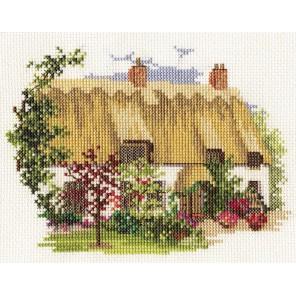 Midsummer Thatch Набор для вышивания Derwentwater Designs 14DD227