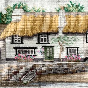 Cornish Cottage Набор для вышивания Derwentwater Designs 14DD203