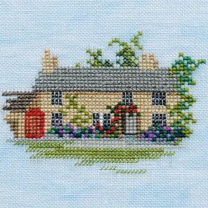 Rose Cottage Набор для вышивания Derwentwater Designs MIN05A