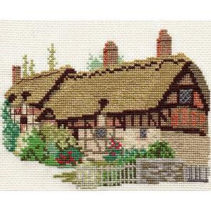 Ann Hathaways Cottage Набор для вышивания Derwentwater Designs 14DD204