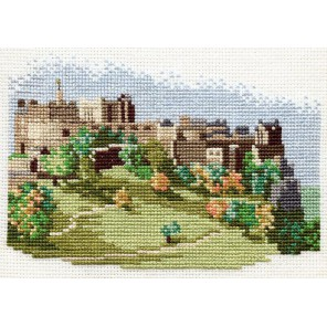 Edinburgh Castle Набор для вышивания Derwentwater Designs 14DD301